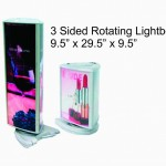 3 sided rotating light boxes
