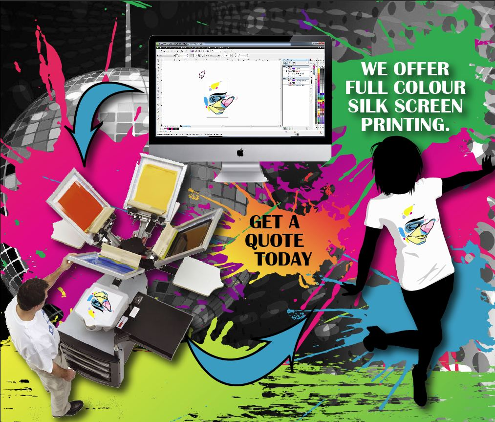 Screen Printing Instant Imprints Vancouver