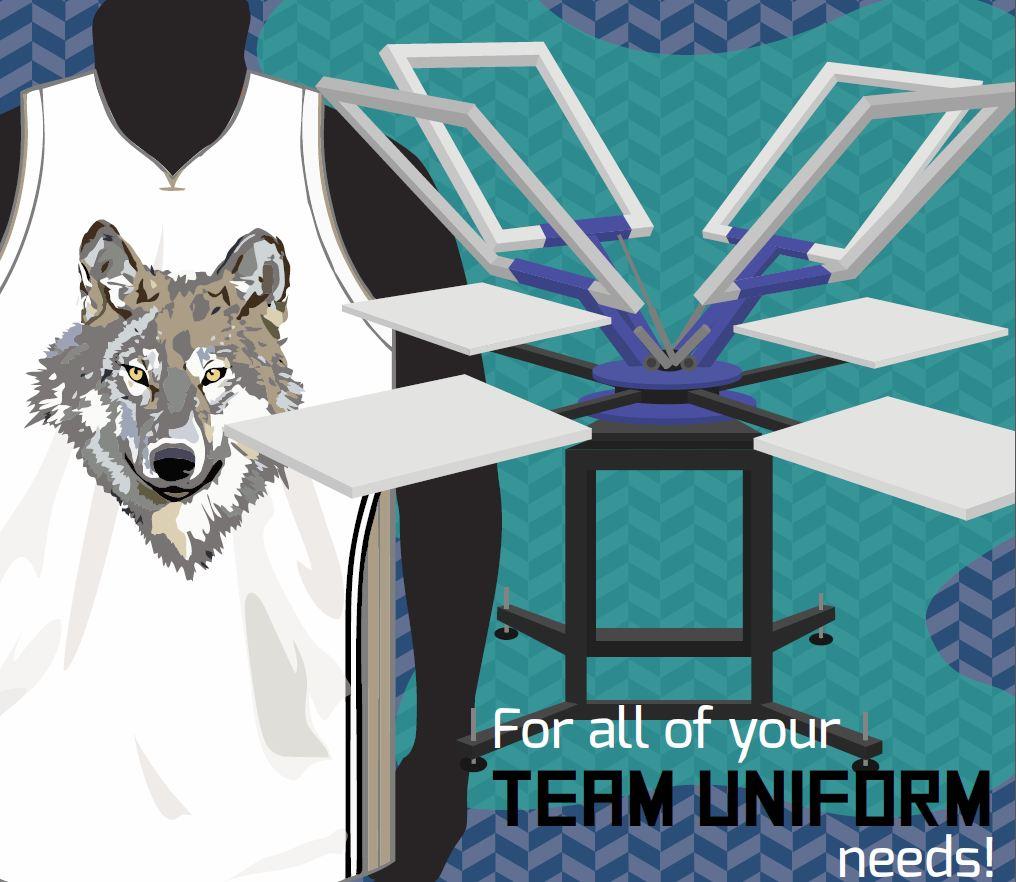 Team uniforms Vancouver