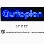 autoplan led sign