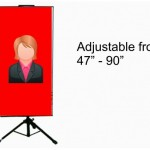 banner stand 47 inch to 90 inch