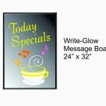 erasable glow message board