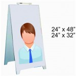 PVC sandwich board 24X32 and 24X48