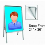 Snap frame sandwich board 24X36
