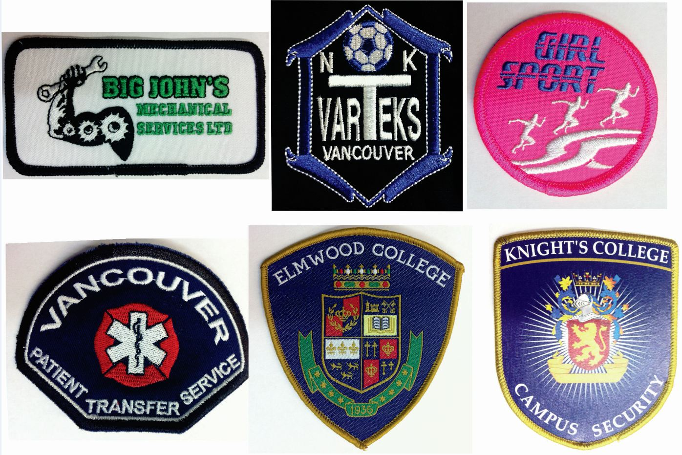 Custom Embroidered and printed patches